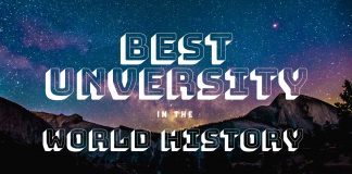 best universities in the world history