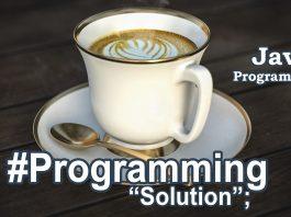 Java Programming Solutions