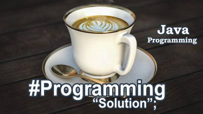 Java Programming Solutions
